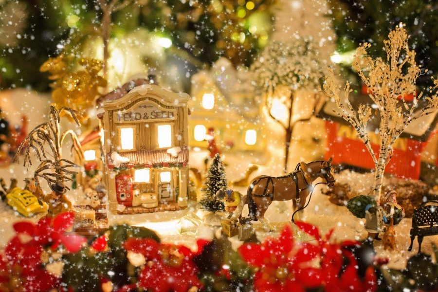 Miniature+Christmas+Villages